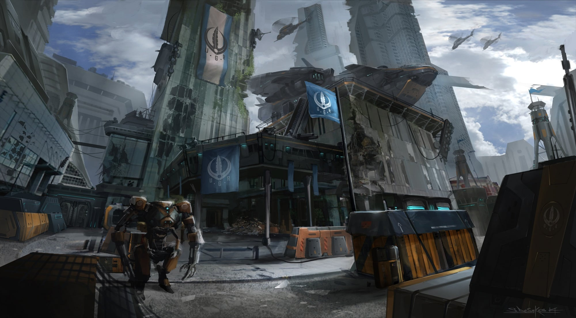 Beyond Flesh And Blood Concept Art Revealed