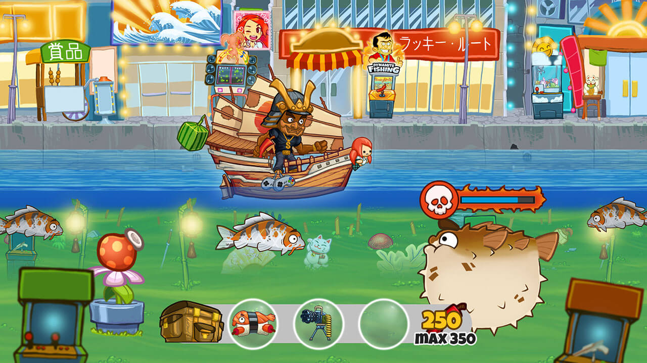 Dynamite fishing world games coming to ps4 for Ps4 fishing games