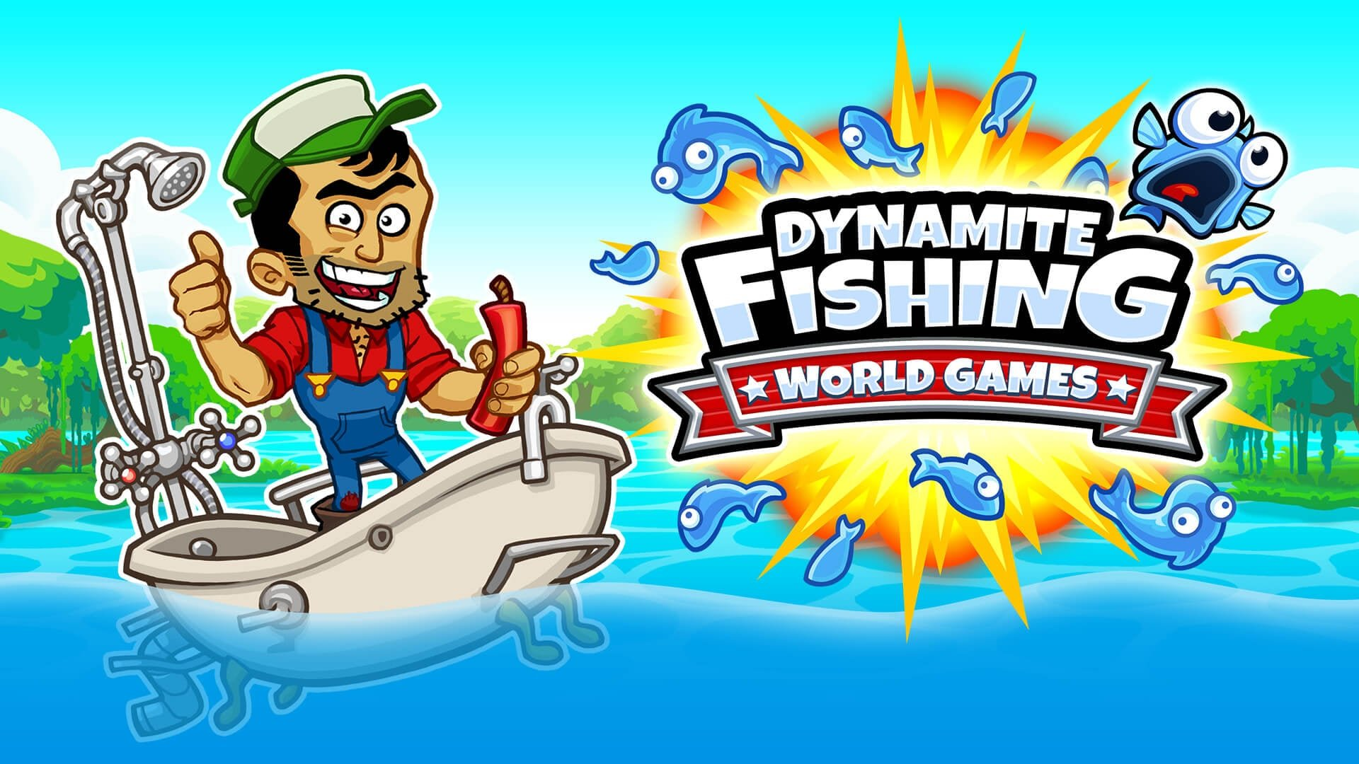 Dynamite fishing world games coming to ps4 for Fishing world game