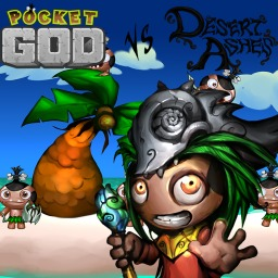Pocket God vs. Desert Ashes