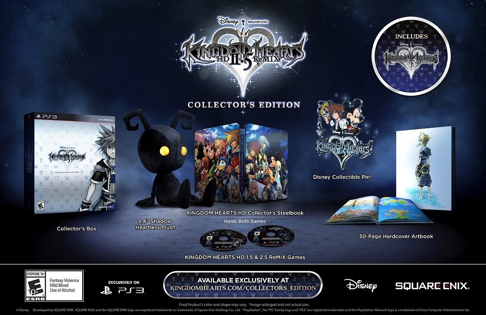 kingdom hearts iii playstation 4 deluxe edition
