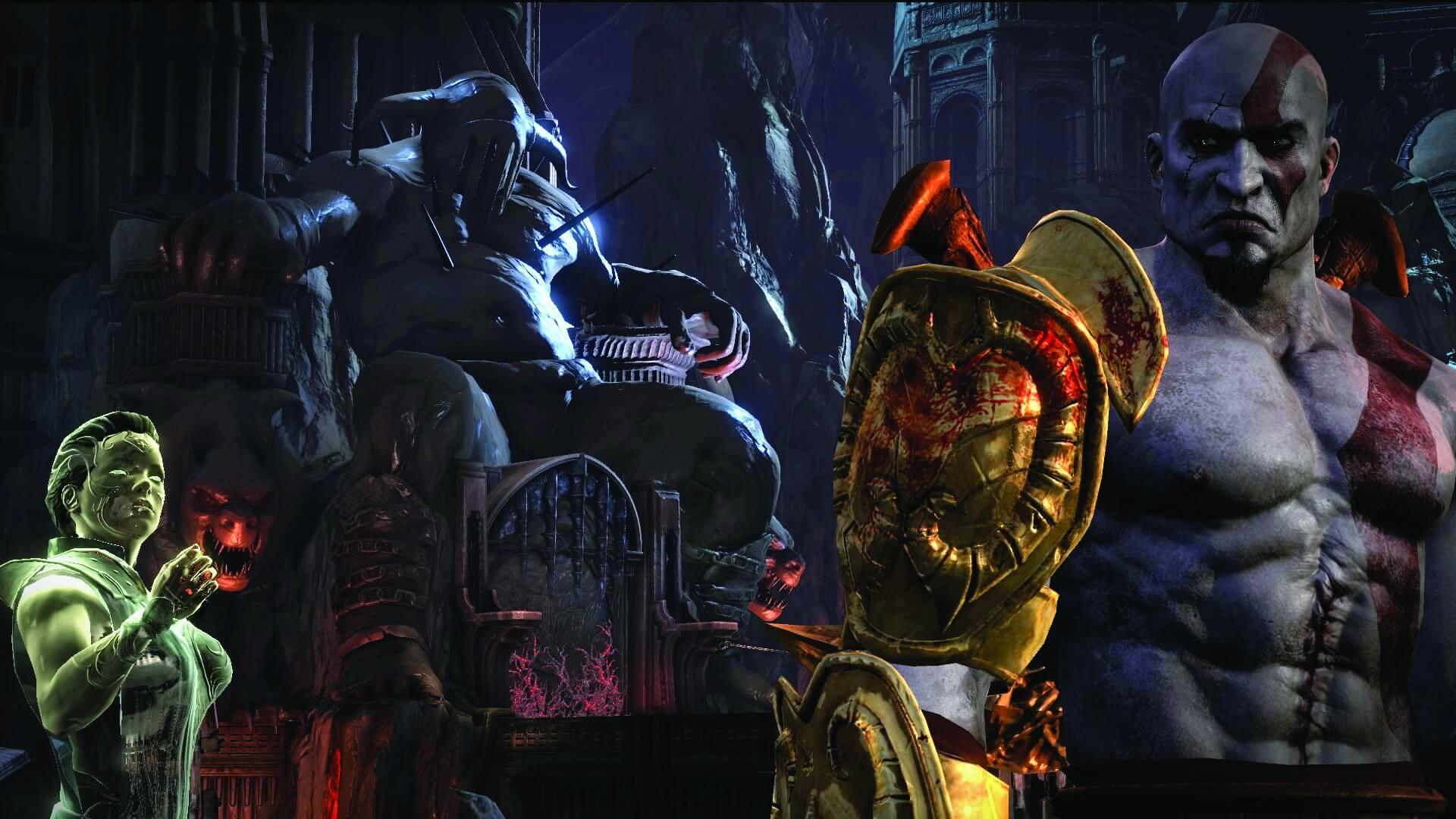 God Of War III Remastered Screenshots