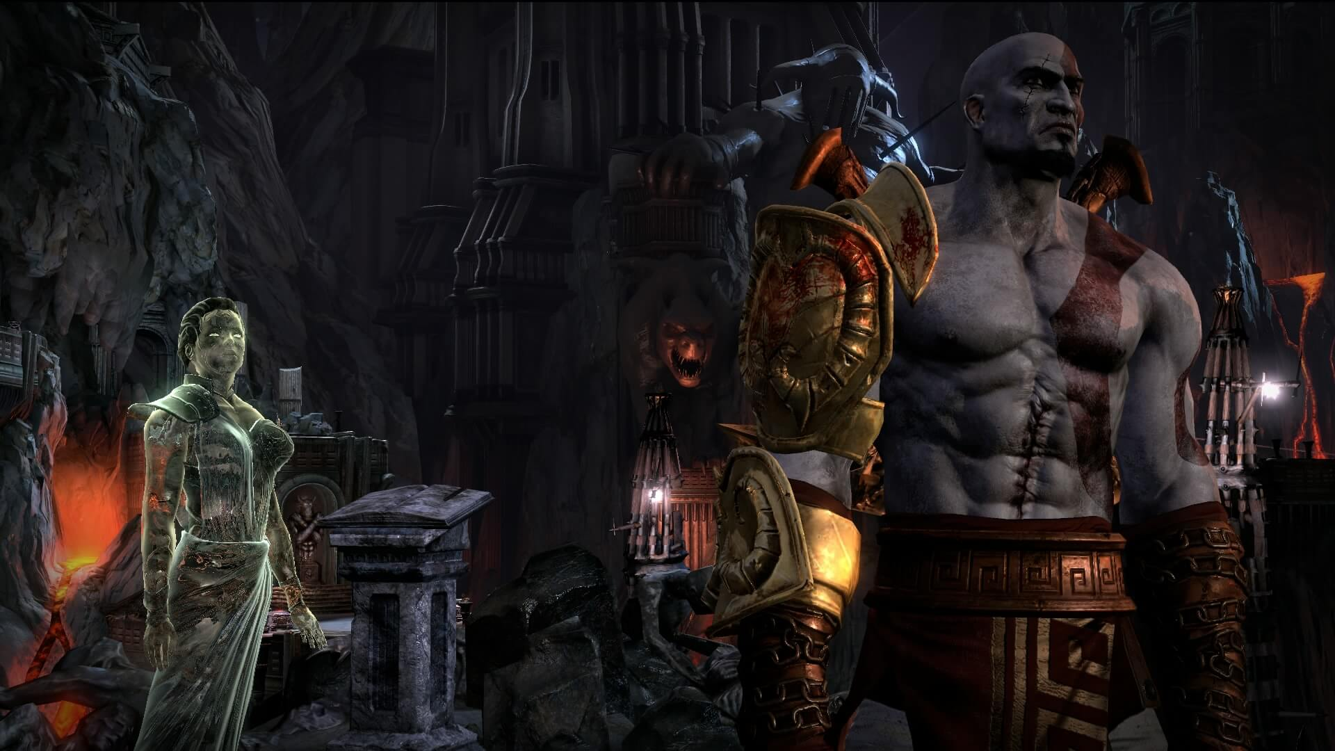 God Of War III Remastered Gameplay Video & Screens