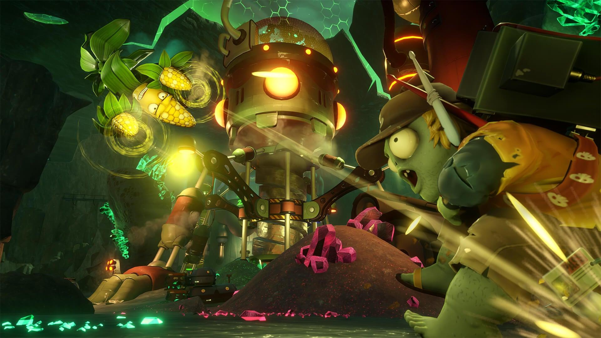 Plants vs  Zombies GW 2 Gamescom Gameplay Trailer
