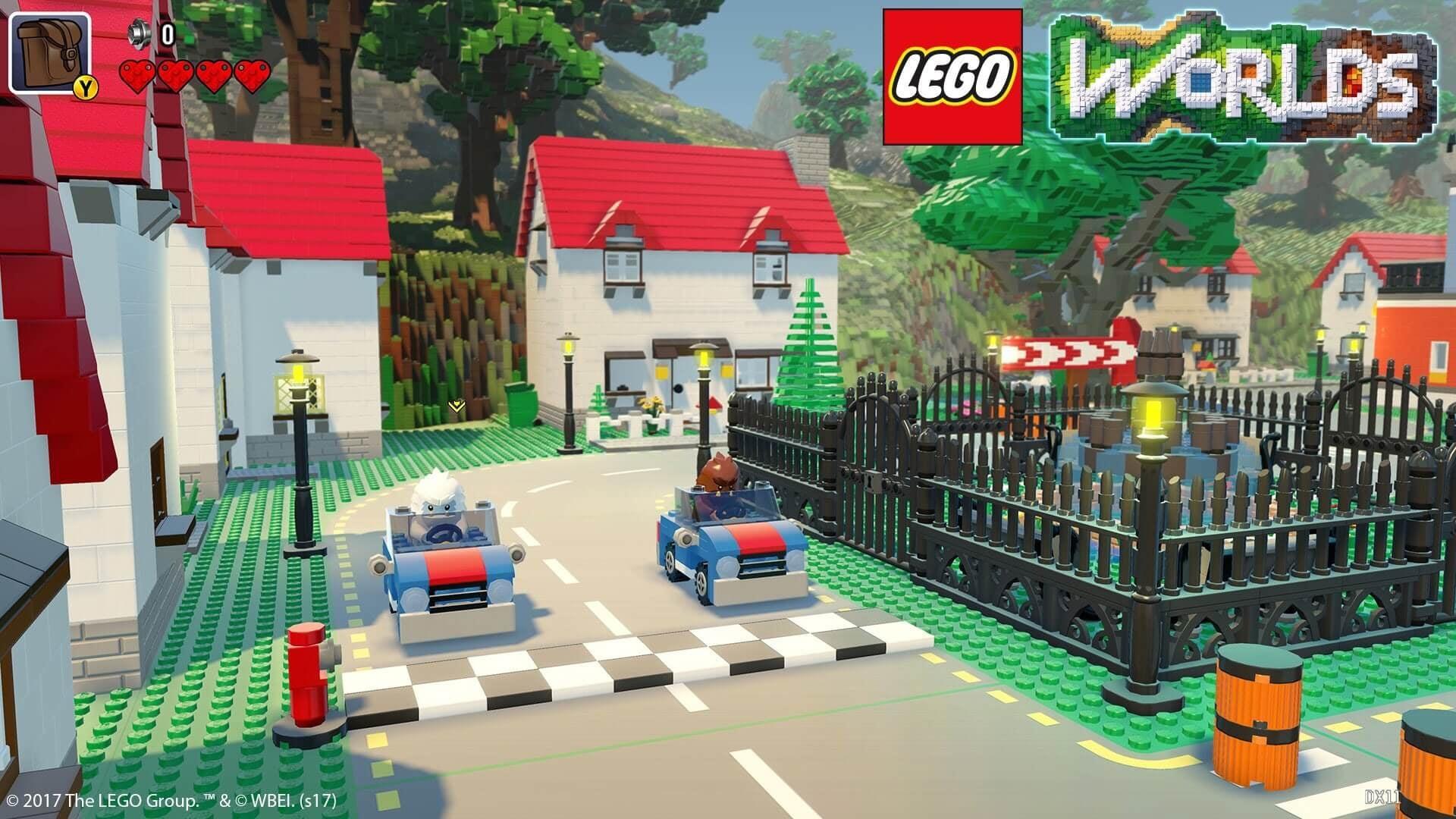 Lego Worlds Vehicle Building