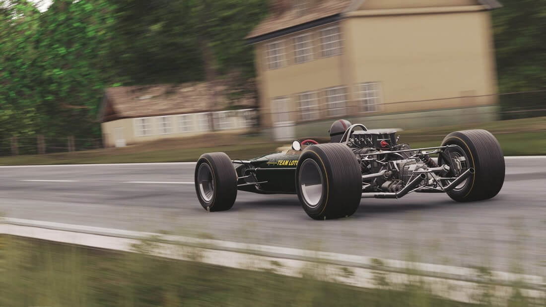 Project CARS 2 Reveals Classic Spa In All Of Its Former Glory