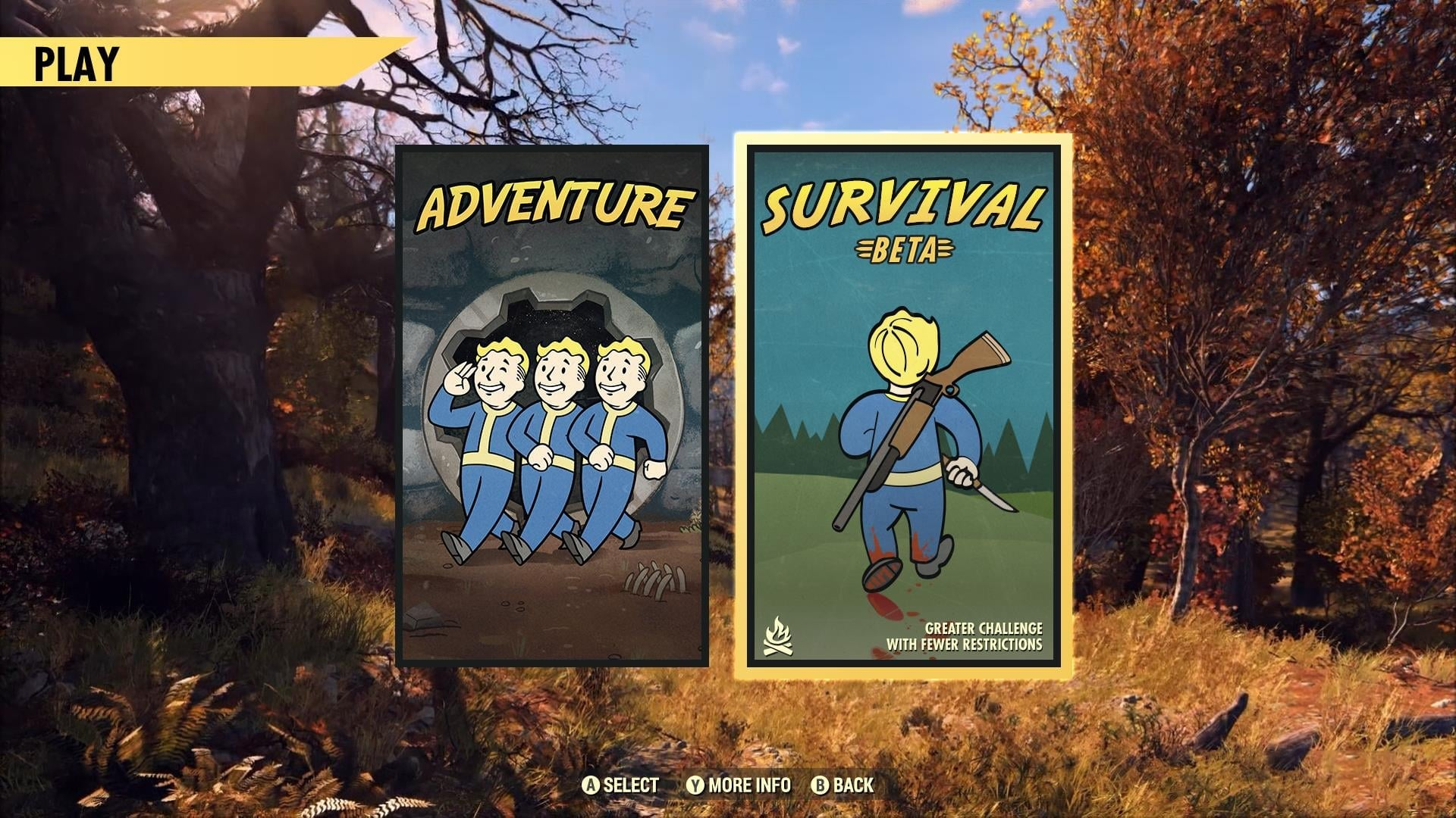 New Survival Mode Teased for Fallout 76